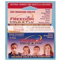 Nat-rul Health Products FREEDOM COLD & FLU TABS Size: 36