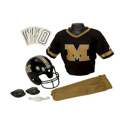 Franklin Missouri Helmet Uniform Deluxe Set - Medium
