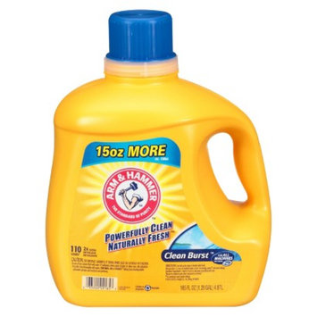 Arm & Hammer Liquid Laundry Detergent Clean Burst 110 Loads 165 oz