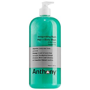Anthony Invigorating Rush Hair + Body Wash 32 oz