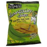 Samai Plantain chips Pacific Sea Salt, 2.65-Ounce (Pack of 15)