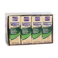 Lance Fresh Cream Cheese & Chives Captain's Wafers Crackers 8 Pack