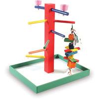 Prevue Pet Products Parrot Playpen - Green (Large)