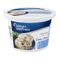 Weight Watchers Cream Cheese Spread Whipped Reduced Fat