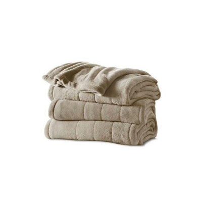 Jarden Sunbeam Electric Overblanket - Twin Size - 10 Hour [automactic Shut Off] - 10 Heat Settings - Dryer Safe, Washable, Preheat - Polyester (bsm9cts-r772-12a00)