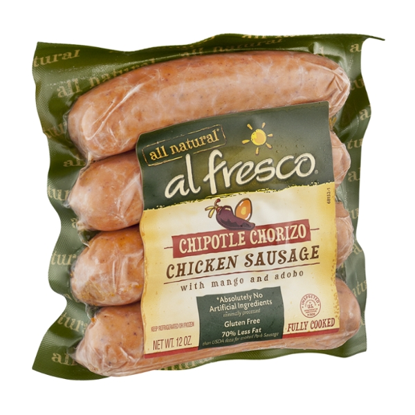Al Fresco All Natural Chicken Sausage Chipotle Chorizo