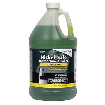 Nu Calgon NU-CALGON 4287-08 Ice Machine Cleaner,1 gal, Green