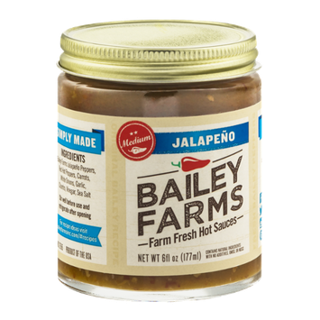 Bailey Farms Farm Fresh Hot Sauces Jalapeno