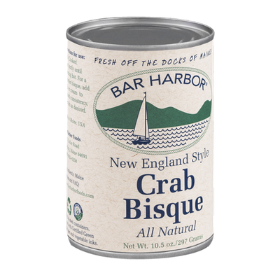 Bar Harbor Crab Bisque New England Style