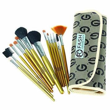 FASH Limited FASH Professional goat hair and nylon makeup Brush Set, 13 pc, For Eye Shadow, Blush, Eyeliner, eyebrow....
