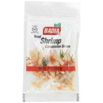 Badia Dried Shrimp, 0.5-ounce bags (Pack of 12)