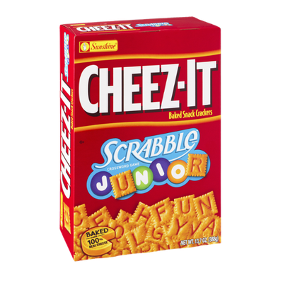 Cheez-It® Scrabble Junior Baked Snack Crackers
