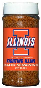 Illinois Fighting Illini Cajun Seasoning Hot Sauce Harry's