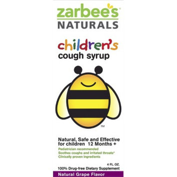 Zarbee's Naturals Children's Grape Cough Syrup - 4.0 oz
