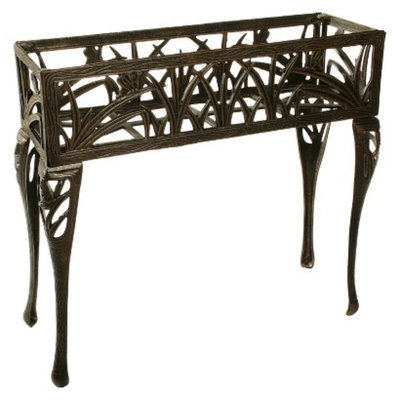 Oakland Living Corp. Butterfly Rectangular Plant Stand