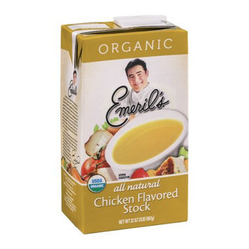 Emeril's Stock, Chicken Flavored, Organic, 32 FL OZ (Pack of 6)