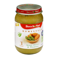 Beech Nut Homestyle Stage 3 Green Beans & Potatoes