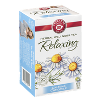 Teekanne Herbal Wellness Tea Bags Calming Camomile - 20 CT