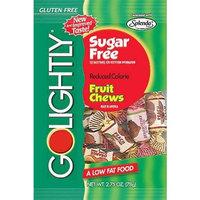 Golightly Assorted Fruits Sugar Free Chewy Candy - 2.75 Oz Peg Bag