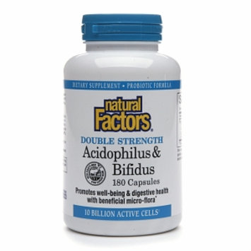 Natural Factors Acidophilus & Bifidus