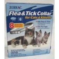 Wellmark International Zodiac Flea & Tick Collar for Cats & Kittens, Non-Breakaway