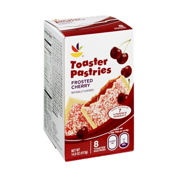 Ahold Toaster Pastries Frosted Cherry - 8 CT