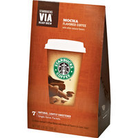 Starbucks VIA Mocha Coffee 7ct