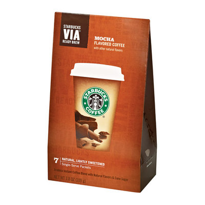 Starbucks VIA Mocha Coffee 7ct
