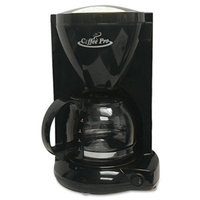 Original Gourmet Food Co. Coffeepro CP6B Coffeemaker, 4-Cup, 6-1/2 in.x7-1/4 in.x10 in., Black