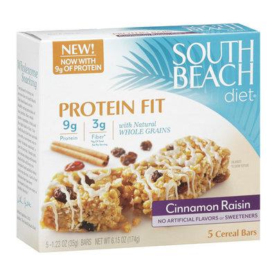 South Beach Diet Cinnamon Raisin Cereal Bars