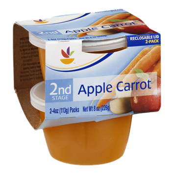 Ahold 2nd Stage Baby Food Apple Carrot - 2 CT