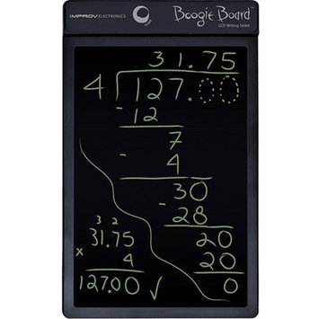 Kent Displays Boogie Board 8.5 LCD Writing Tablet, Black