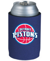 Football Fanatics Detroit Pistons Navy Blue Collapsible Can Koozie
