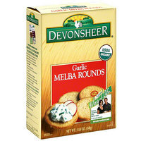 Devonsheer Garlic Melba Rounds
