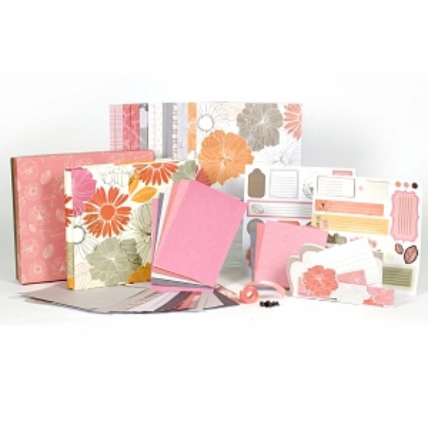SEI Claire 8x8 1 Hour Scrapbook Album Kit Ages 10+, 1 ea
