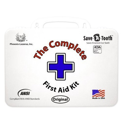 Phoenix Lazerus, Inc. The Complete First Aid Kit Ansi First Aid Kit, White