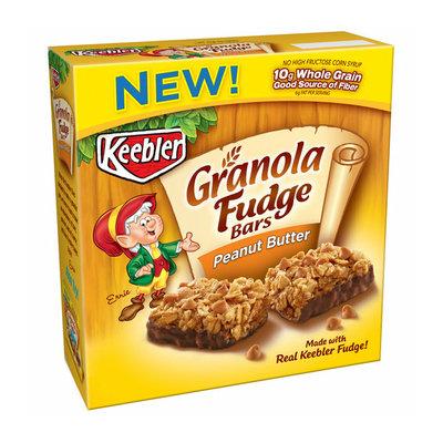 Keebler Peanut Butter Fudge Granola Bars