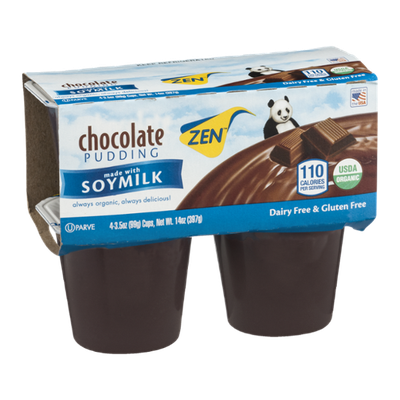 Zen Chocolate Pudding - 4 CT