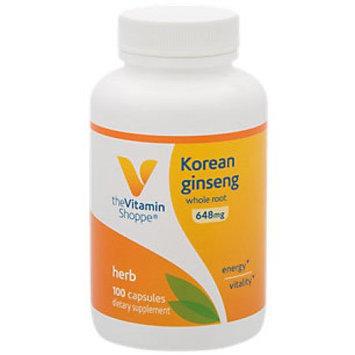 Vitamin Shoppe Korean Ginseng