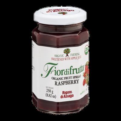 Fiordifrutta Organic Fruit Spread Raspberry