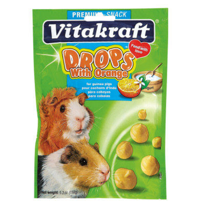 Vitakraft Drops with Orange for Guinea Pigs