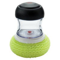 OXO Kitchen Soap Dispensing Mesh Palm Scrubber