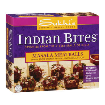 Sukhi's Indian Bites Masala Meatballs