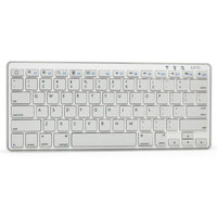 Azio AZiO Ultra-Slim Mini Bluetooth 3.0 Wireless Keyboard for Tablets, White