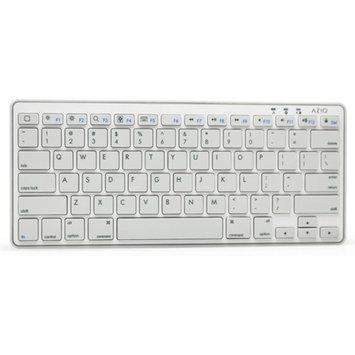 Azio AZiO Ultra-Slim Mini Bluetooth 3.0 Wireless Keyboard for Tablets, White