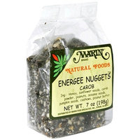 Marin Carob Energee Nuggets, 7-Ounce Bags (Pack of 12)