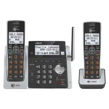 AT&T DECT 6.0 Cordless Phone System (CL83213) with Digital Answering