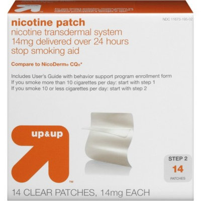 Up & Up Nicotine Step 2 Patch 14-pk. - Original (14 mg)
