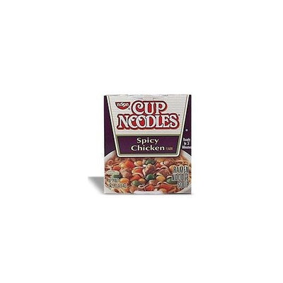 Nissin Noodles Soup- Chicken & Spicy Chile Chicken Variety Mix-2.25 Ounce (24 Pack)