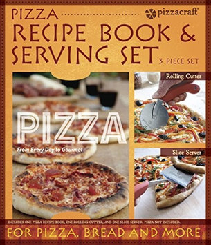 pizzacraft Patio Island & Grilling Center Additions 2-Piece Pizza Serving Set and Recipe Book PC0221